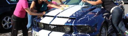 Le lavage de voitures