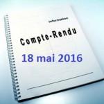 compte-rendu - 18 mai 2016